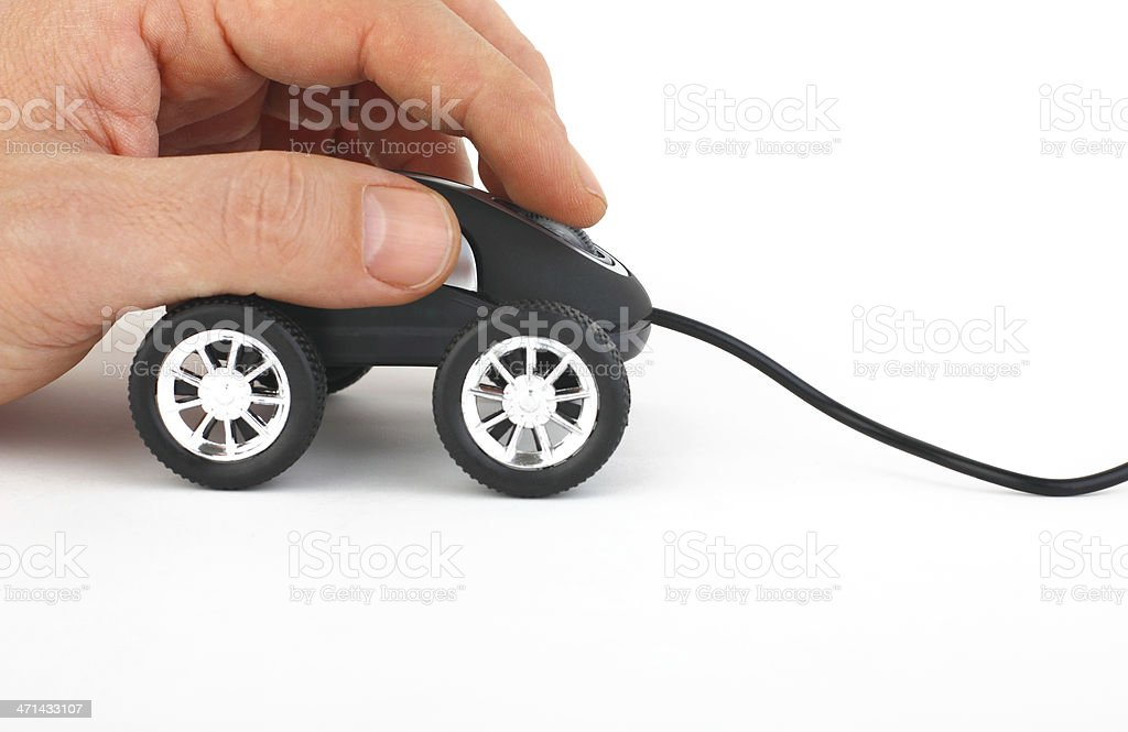 Online car stock photo