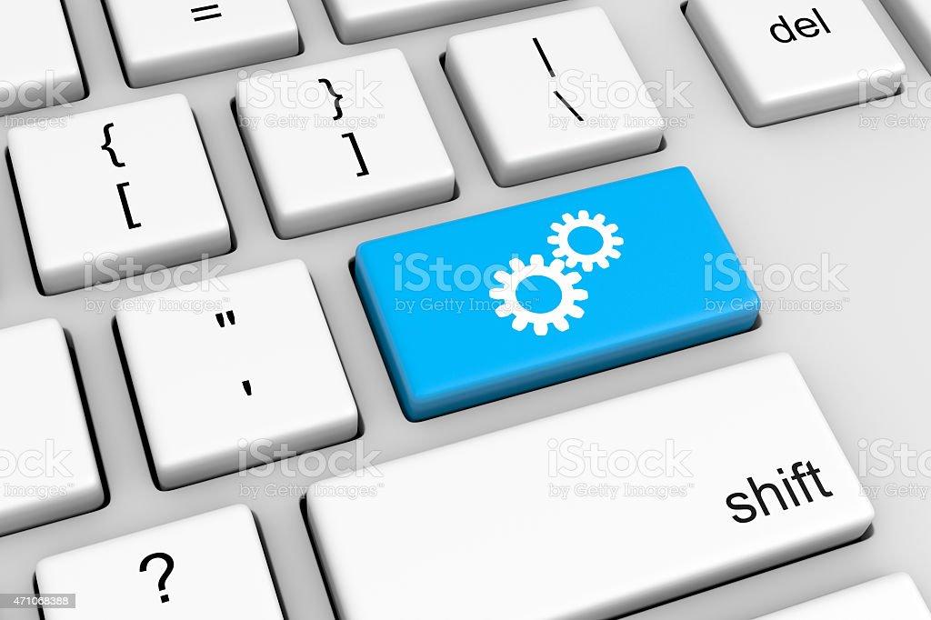 Online Configuration stock photo