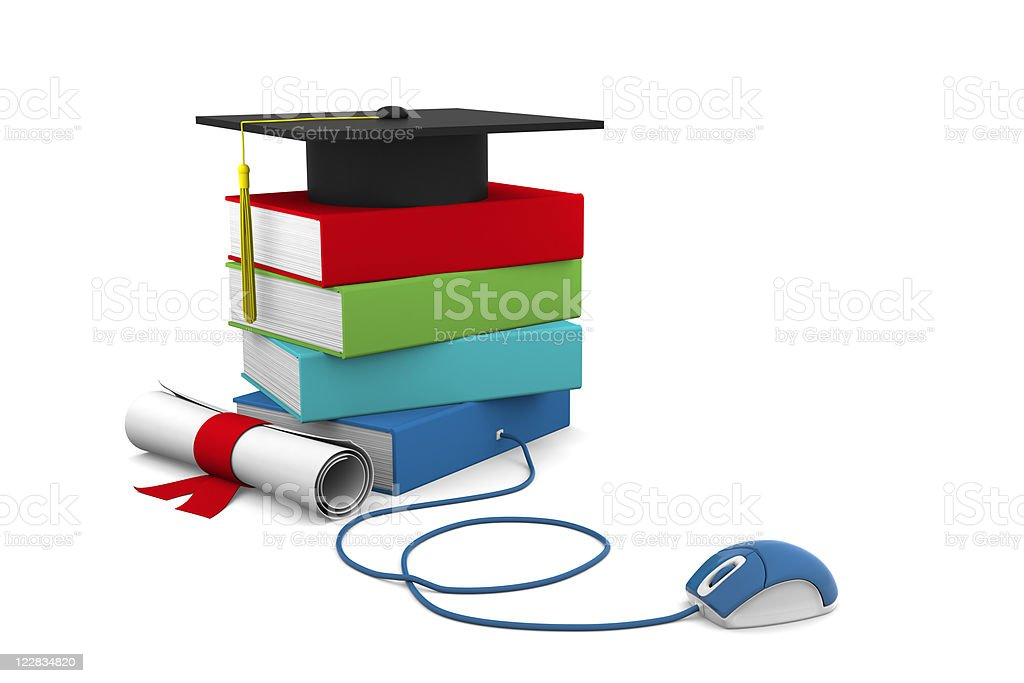 Online Education royalty-free stock photo