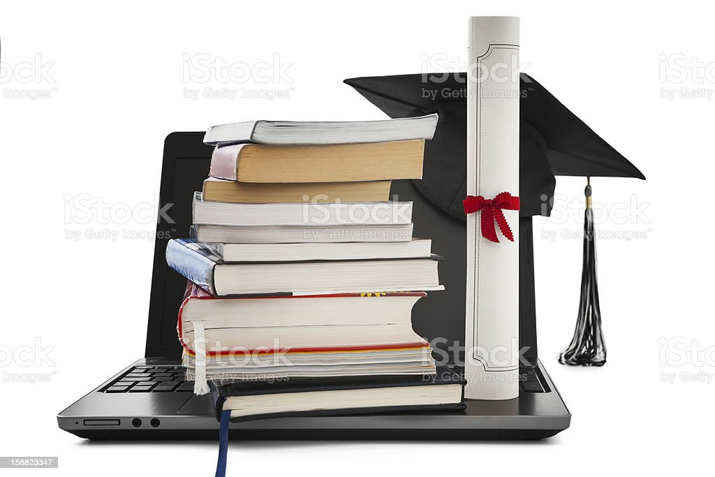 Online education stock photo