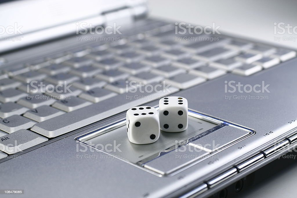 Online game royalty-free stock photo