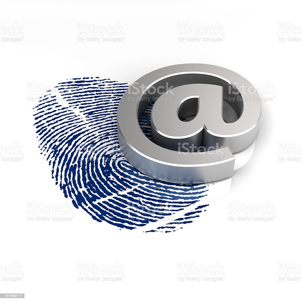 online identity royalty-free stock photo