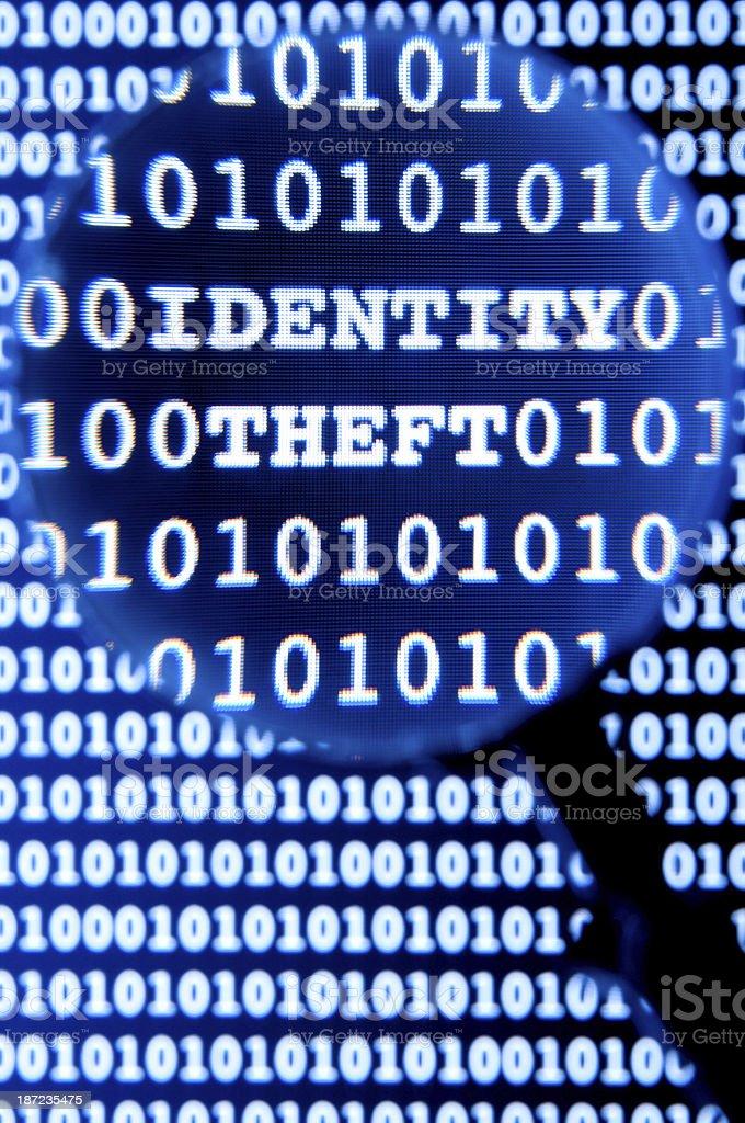 Online Identity Theft royalty-free stock photo