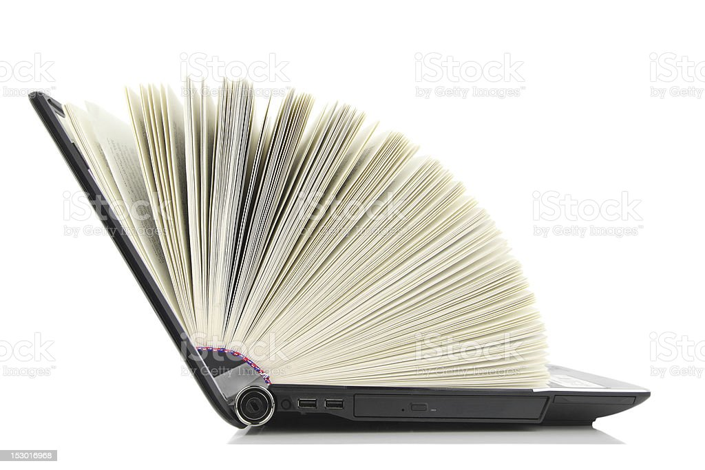 Online library royalty-free stock photo