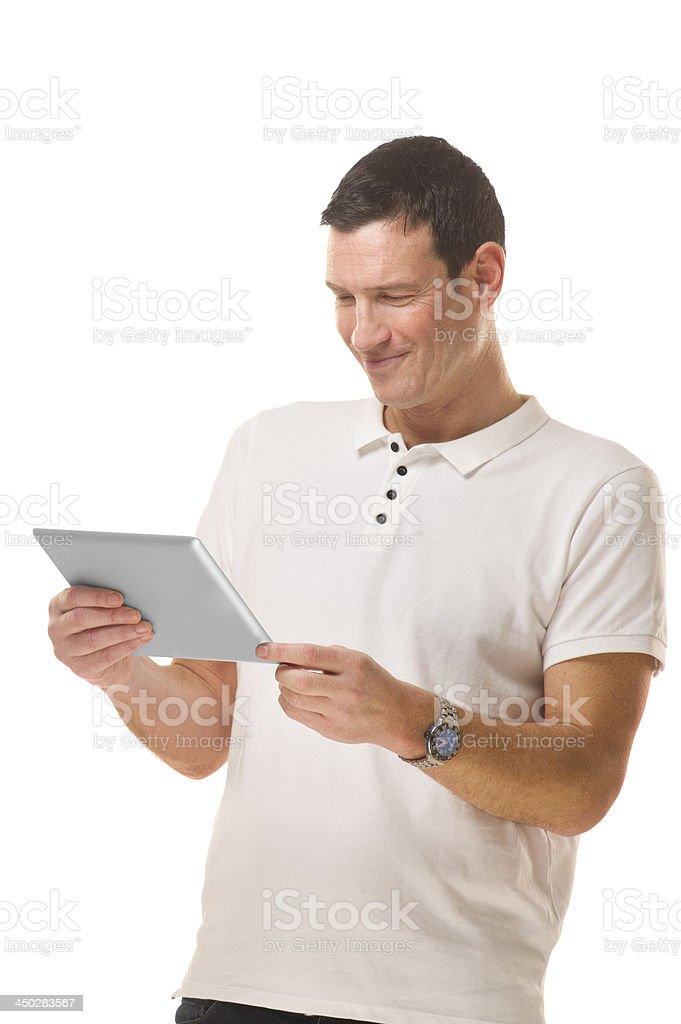 online man royalty-free stock photo