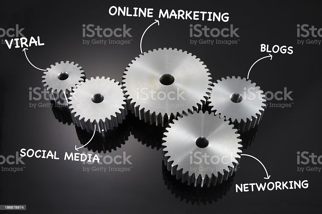 Online Marketing royalty-free stock photo