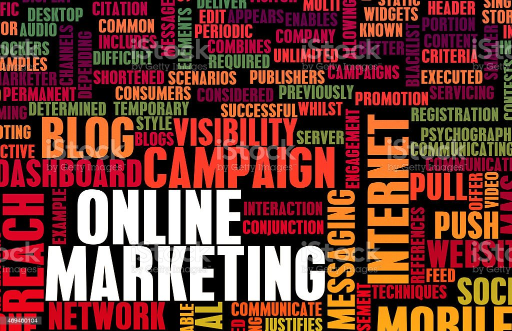 Online Marketing stock photo