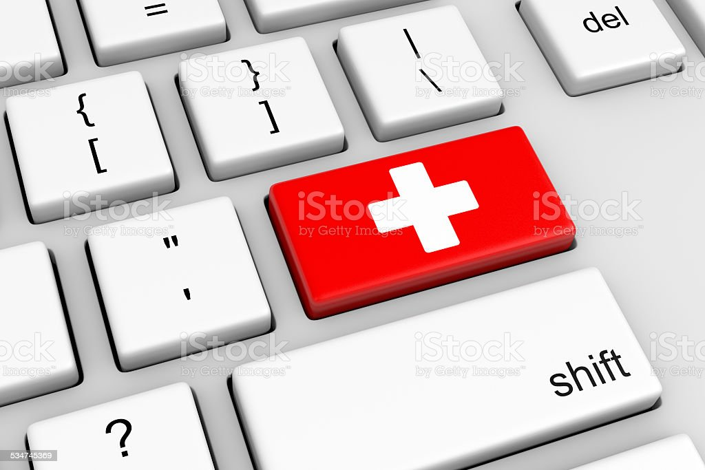 Online Medical stock photo