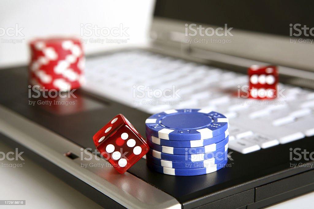 online poker series royalty-free stock photo
