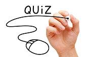 Online Quiz Concept