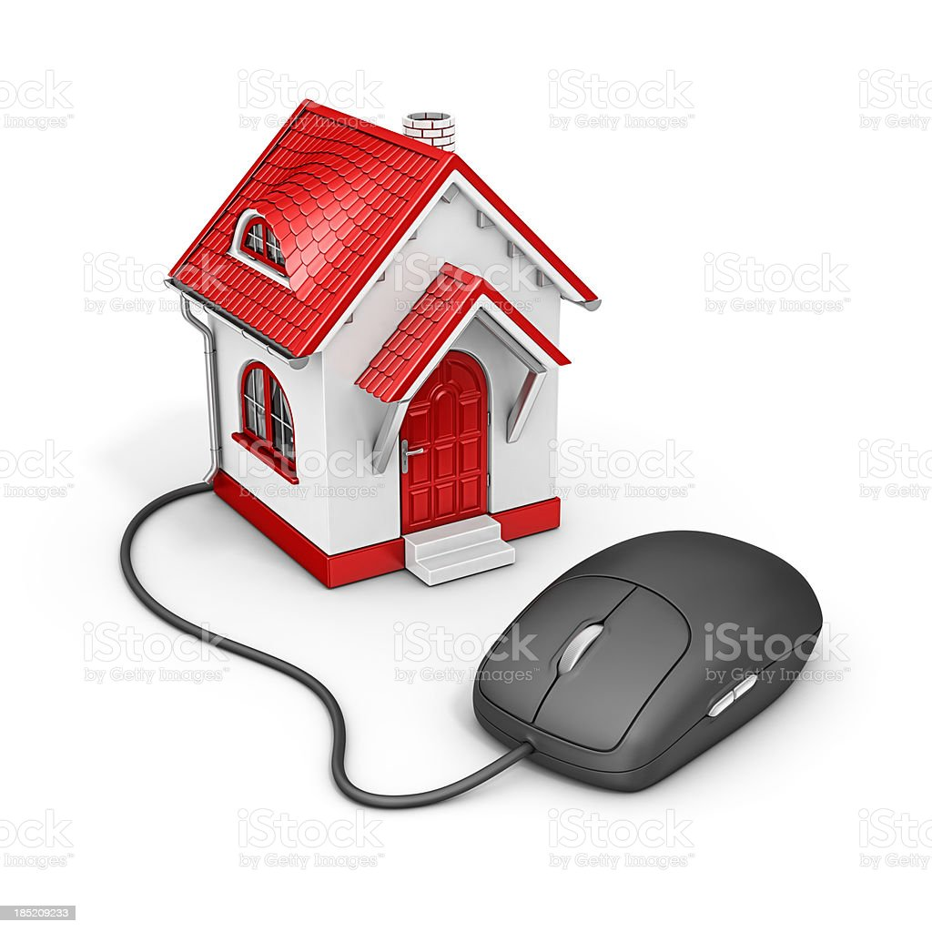 online real estate royalty-free stock photo
