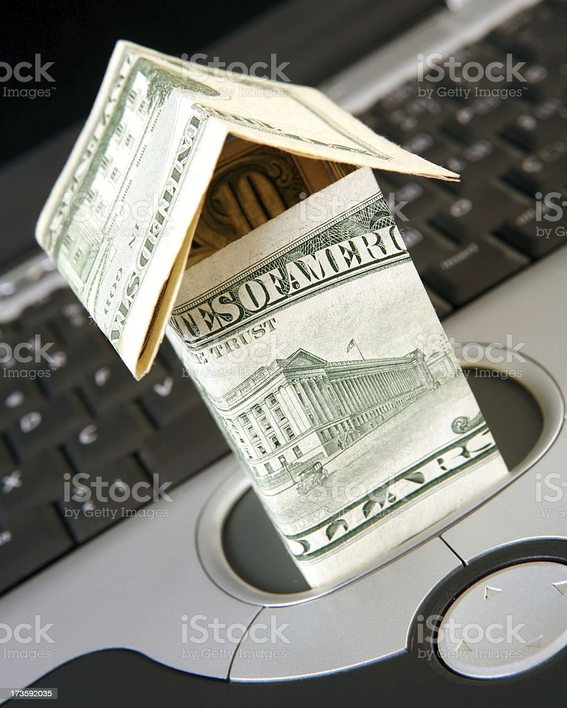 online real estate series royalty-free stock photo