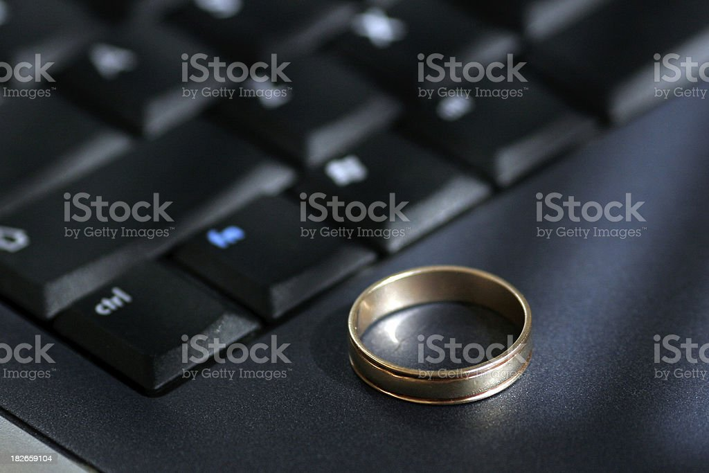 Online Relationships stock photo