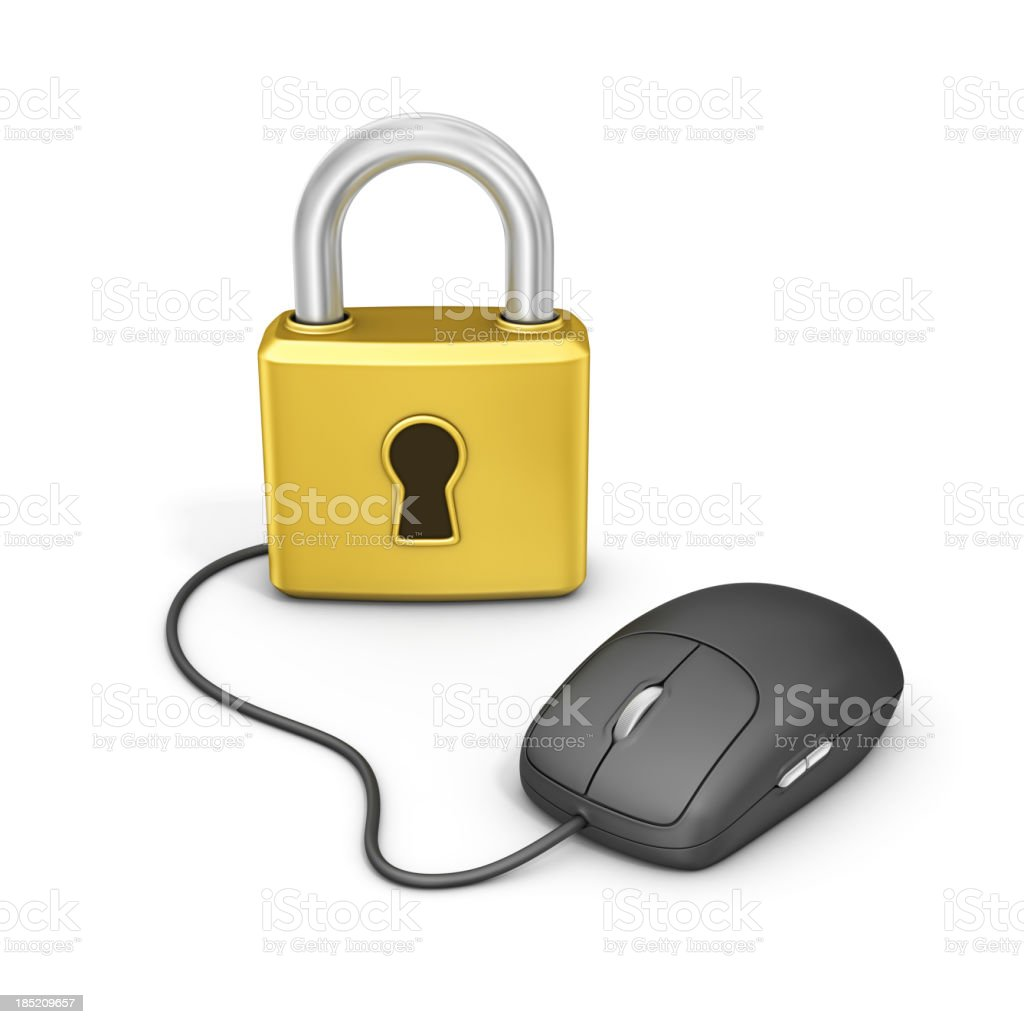 online safety royalty-free stock photo