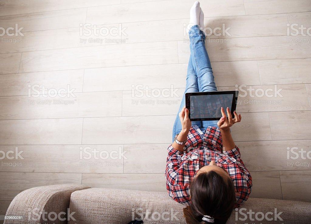 Online shopping. stock photo