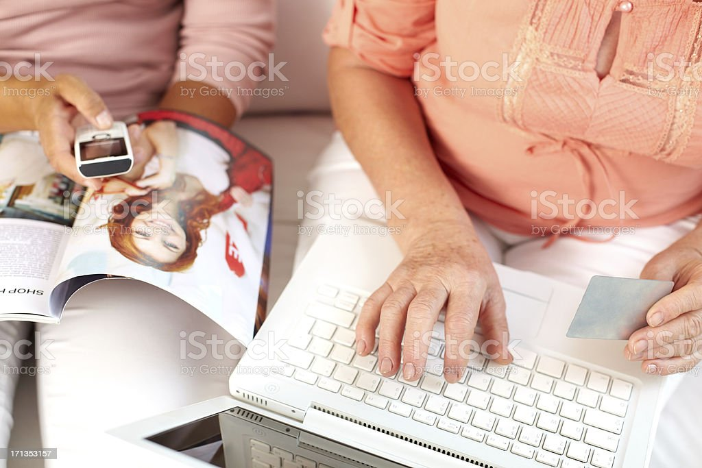 Online store stock photo