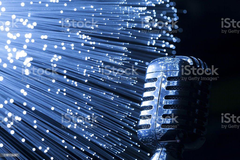 online stream radio concept stock photo