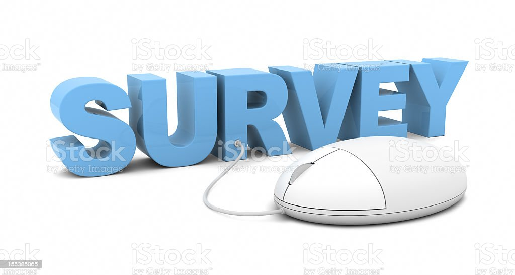 Online Survey royalty-free stock photo