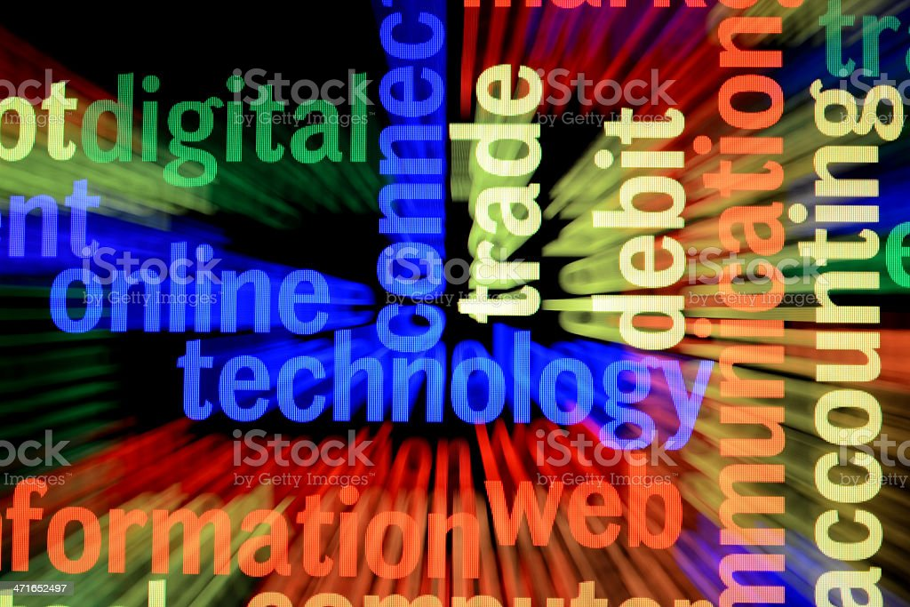 Online technology stock photo