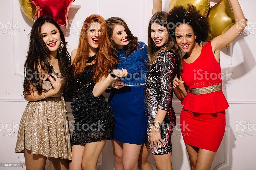 Only girls allowed. stock photo