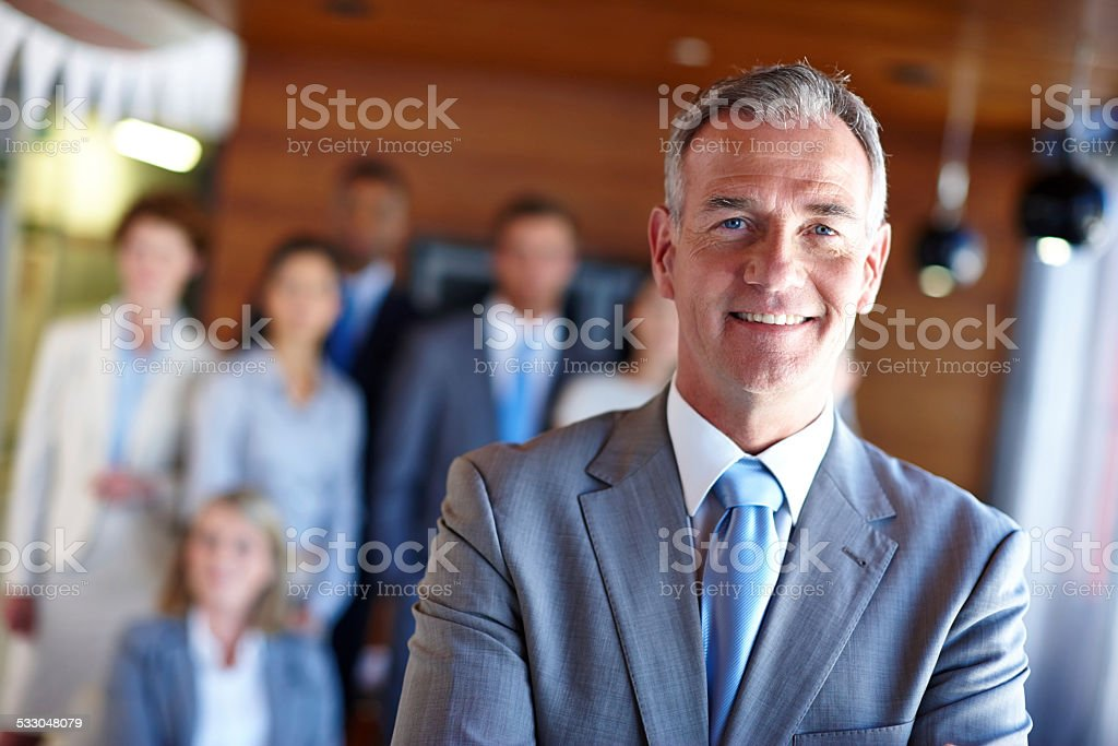 I only lead the best stock photo