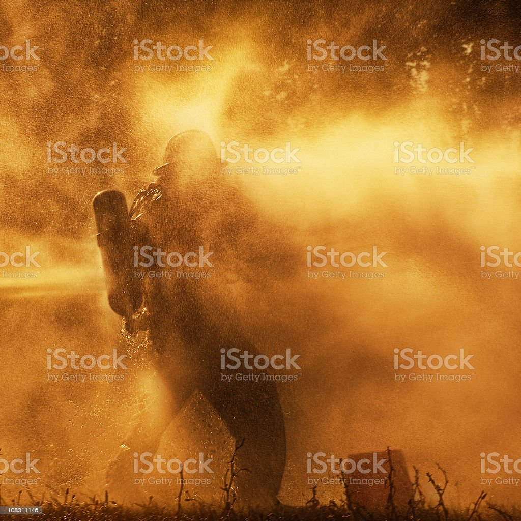 Only the brave will win royalty-free stock photo