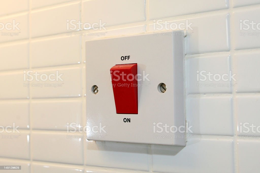 On/Off Switch royalty-free stock photo