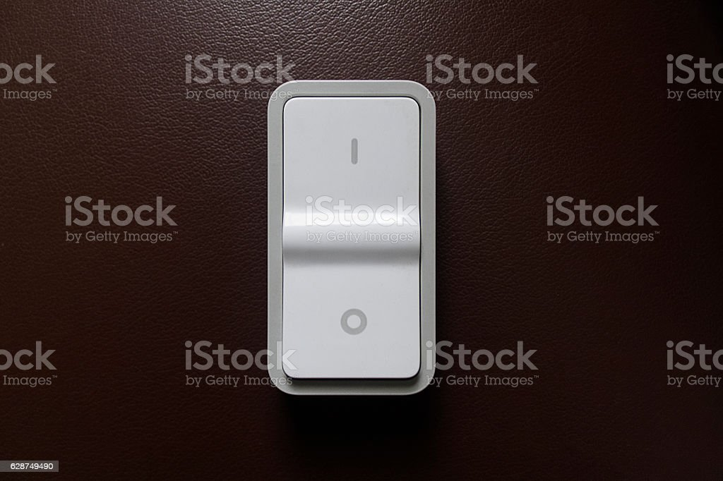 On/Off switch stock photo