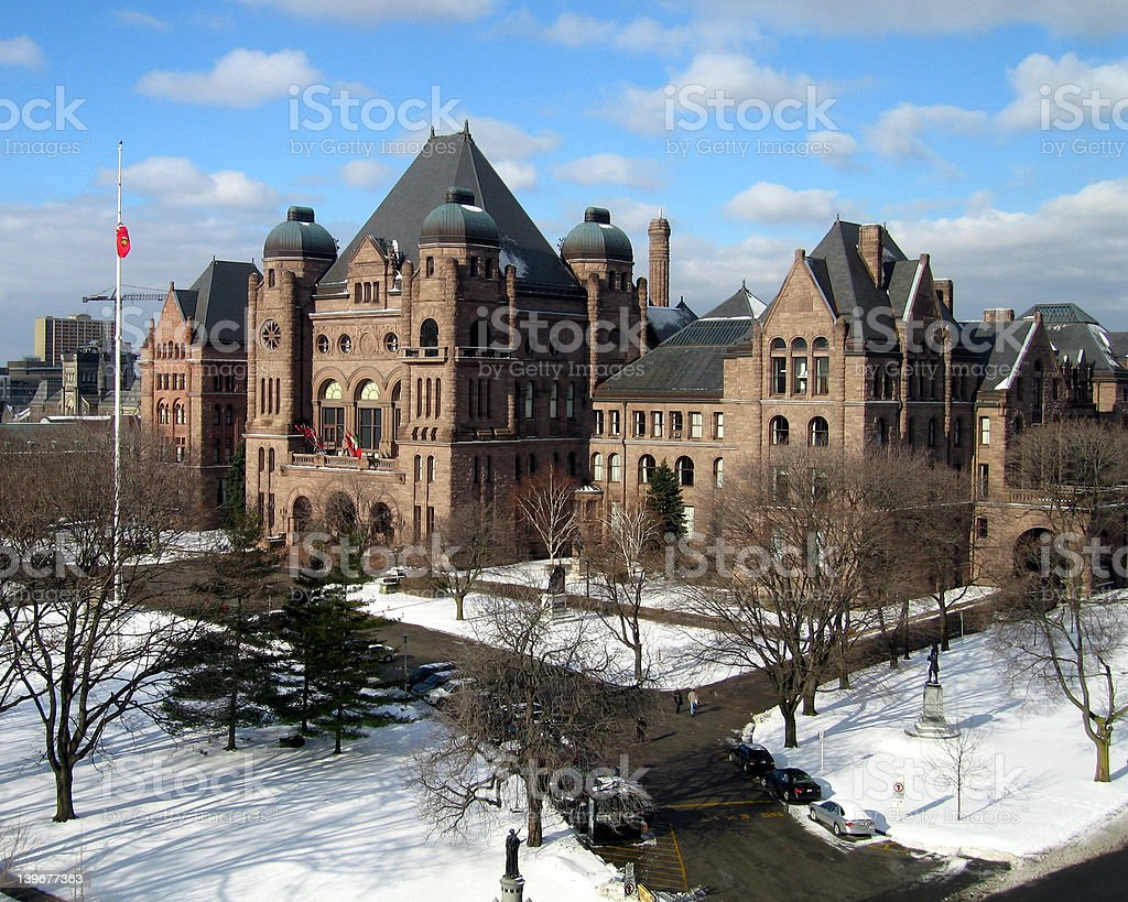Ontario Provincial Parliament Building royalty-free stock photo