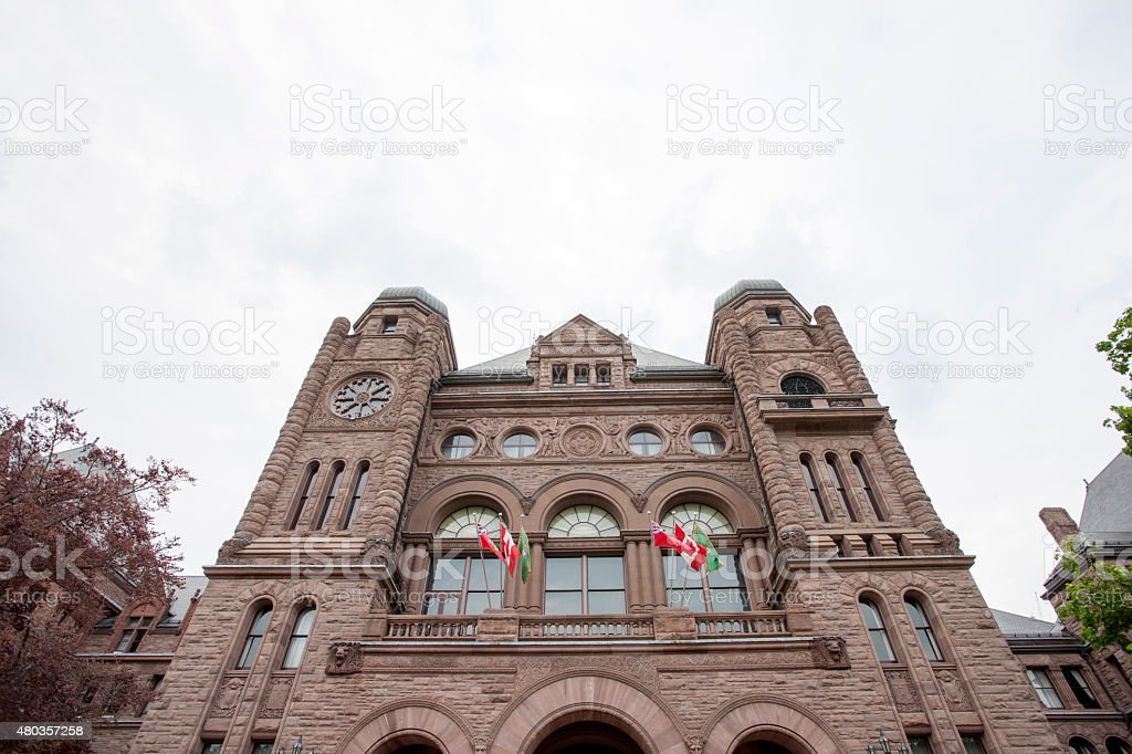 Ontario's Legislative Building stock photo