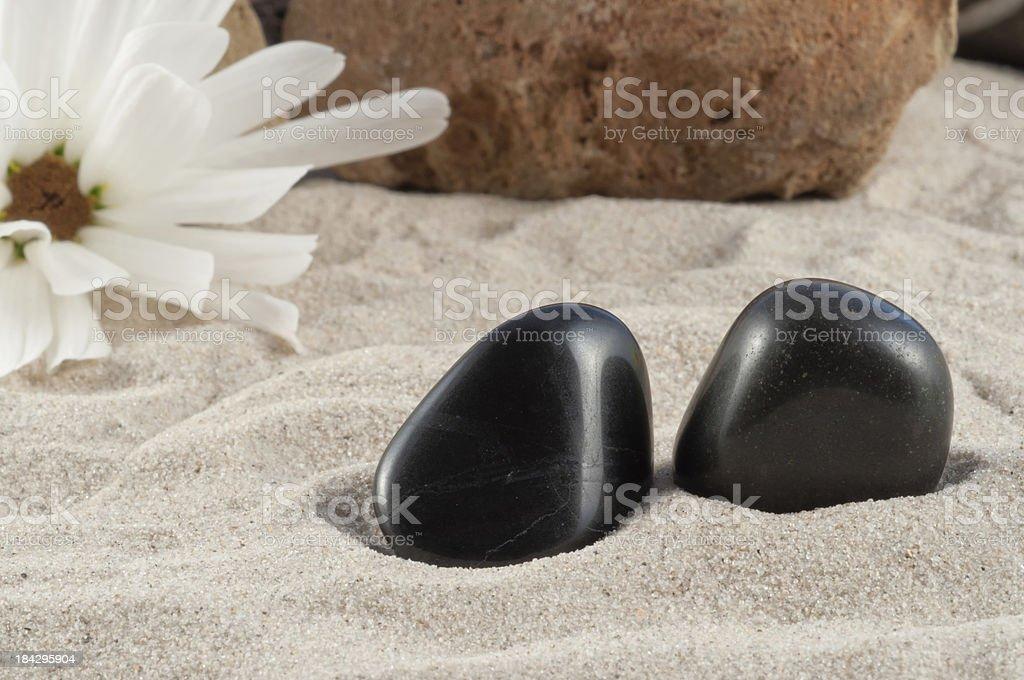 Onyx - half precious stone. guaranteed authentic stock photo