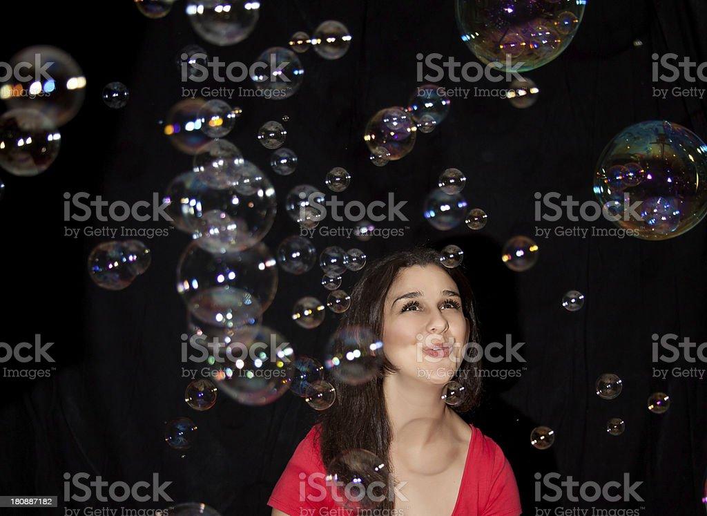 Ooh... Bubbles royalty-free stock photo