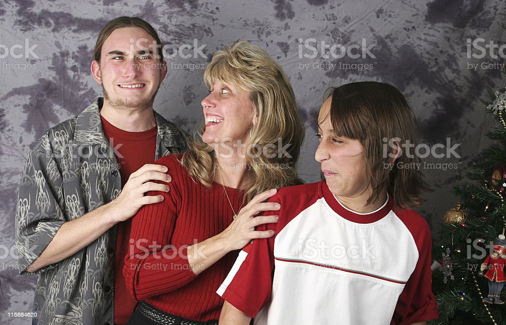 Oooops - Unfortunate Portrait Incident stock photo