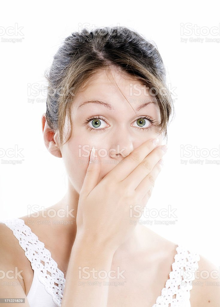 Ooops royalty-free stock photo