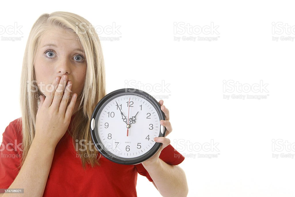 Oops - Out of Time stock photo