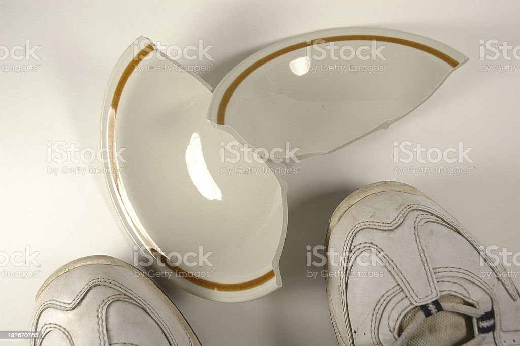 Oops! royalty-free stock photo