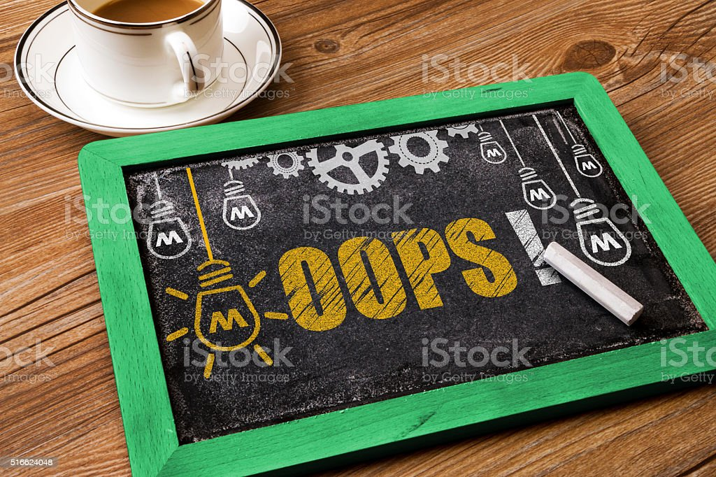 oops! stock photo