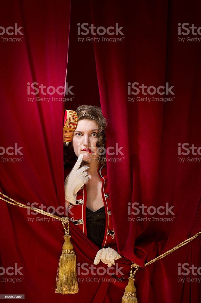 oops, show cancelled stock photo