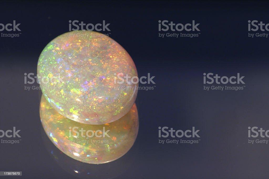 Opal royalty-free stock photo