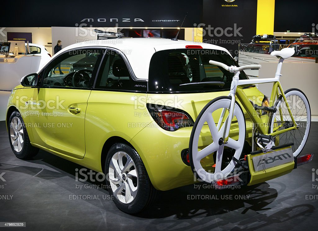 Opel Adam royalty-free stock photo