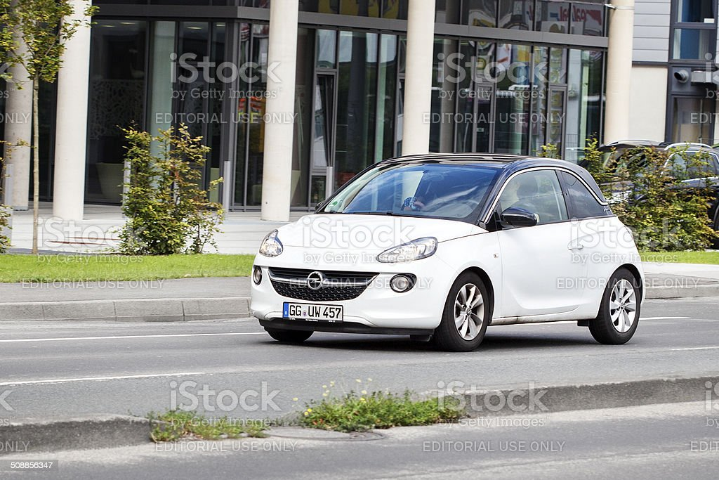 Opel Adam royalty-free stock photo