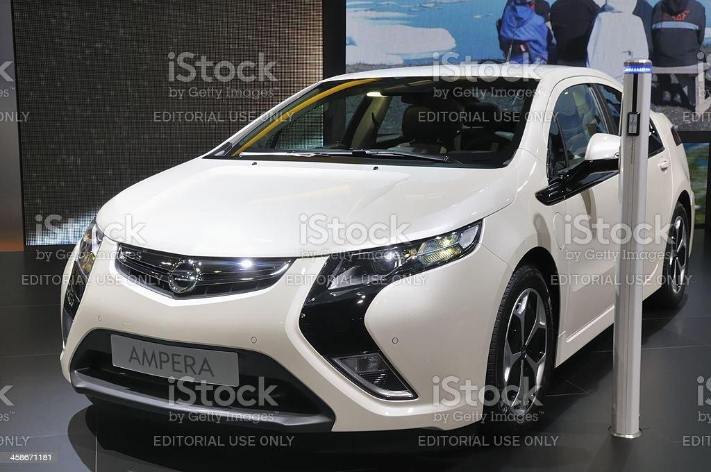 Opel Ampera stock photo