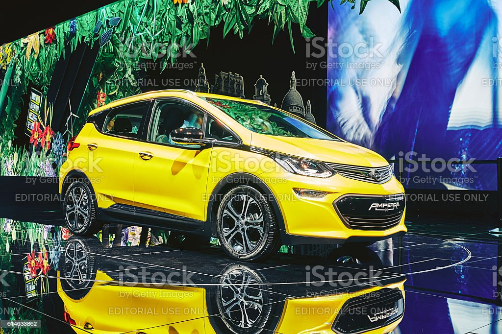 2017 Opel Ampera-e stock photo