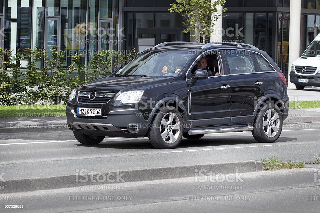 Opel Antara royalty-free stock photo