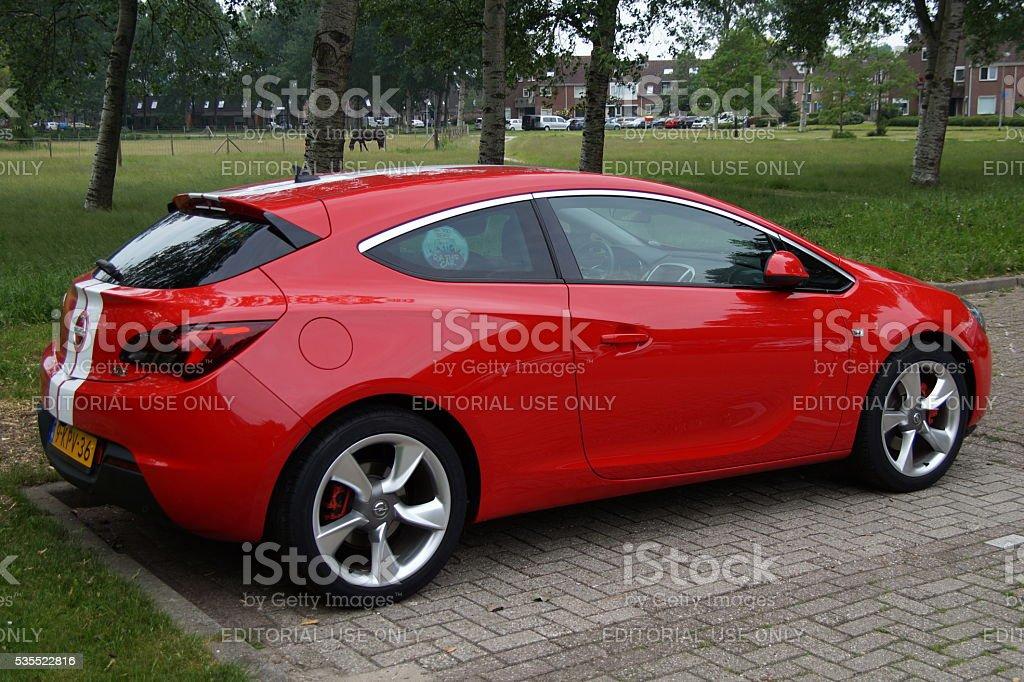 Opel Astra GTC stock photo