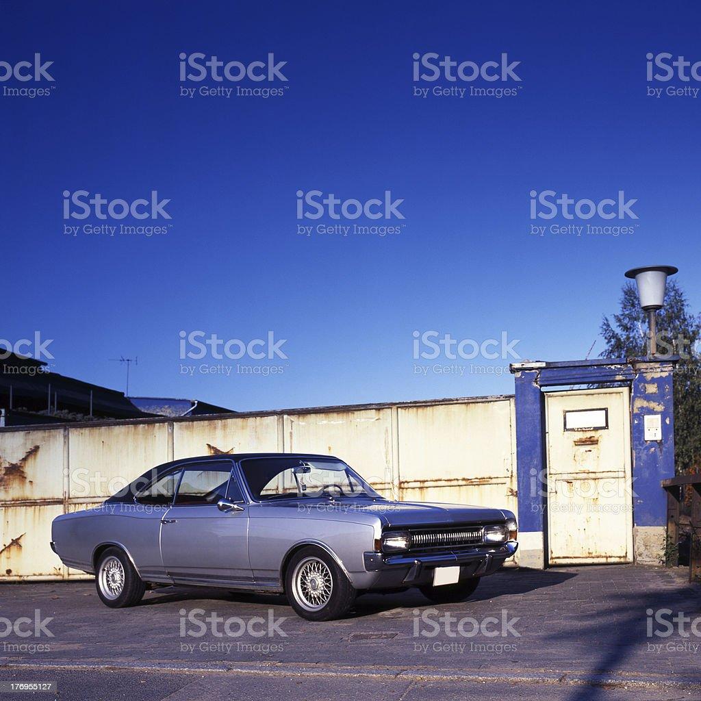 Opel Commodore stock photo