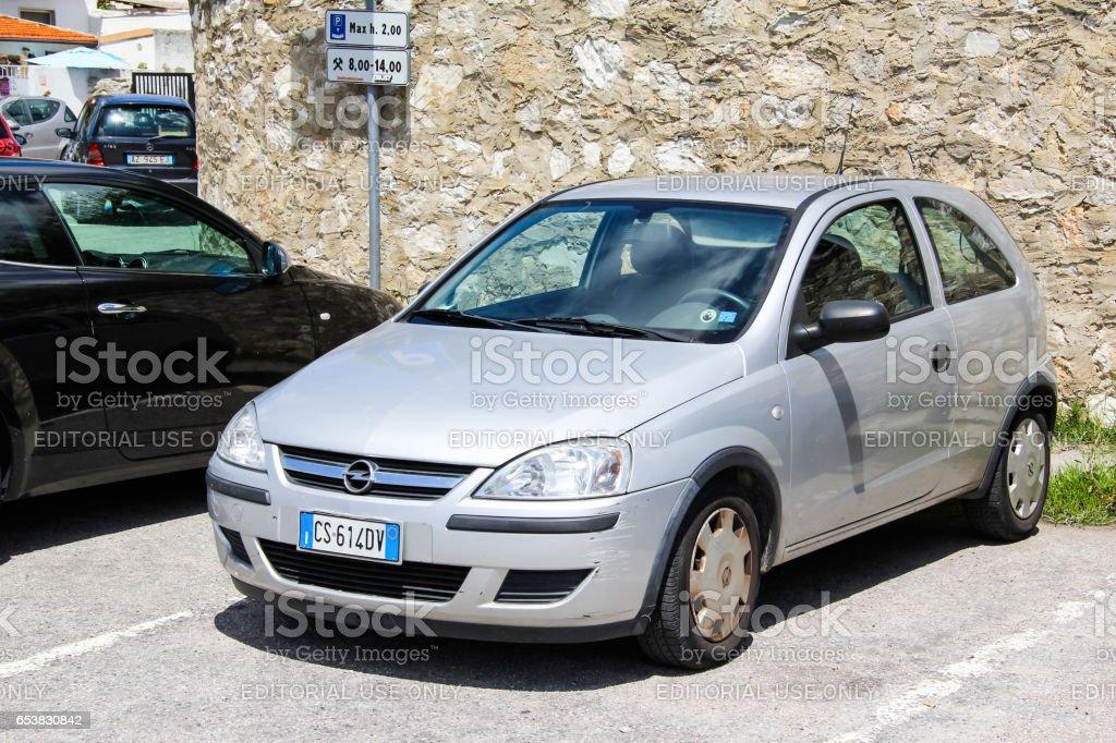Opel Corsa stock photo
