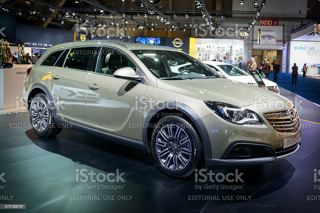 Opel Insignia Country Tourer stock photo