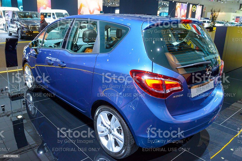 Opel Meriva compact MPV stock photo