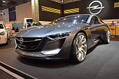 Opel Monza concept car on the motor show